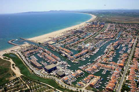 Empuriabrava from above