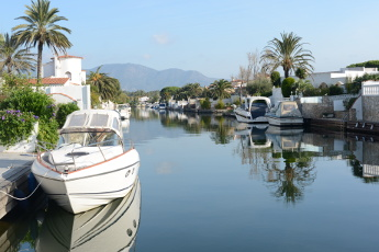 The canals of Empuriabrava